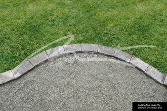 Beton Brož Přídlažba trávníková Tvář kamene® Gabro