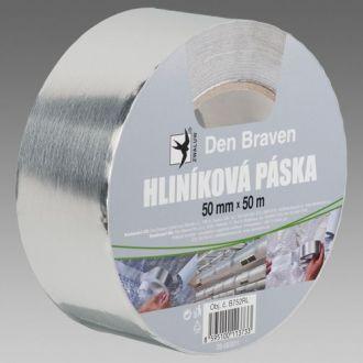 Den Braven Hliníková páska 50 x 50 m
