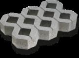 ZT 3  40/60/8 cm šedá