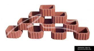 Beton Brož Svahové tvarovky hladké a štípané BETON BROŽ