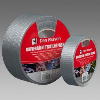 Den Braven Univerzální textilní páska stříbrná B8031RL