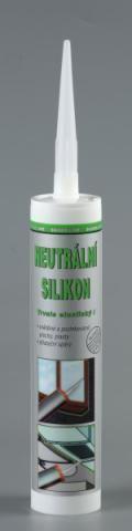 Neutrální silikon Den Braven 280ml SL bílý