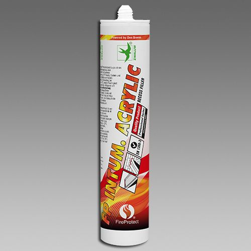 Intumescentní (bobtnající) akrylový tmel 310 ml bílá DEN BRAVEN