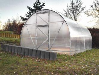 Zahradní skleník z polykarbonátu Econom 4mm  + DÁRKY A DOPRAVA ZDARMA