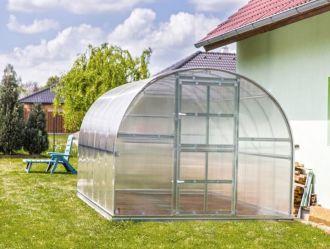 Zahradní skleník z polykarbonátu Gardentec Classic 4 mm + DOPRAVA ZDARMA