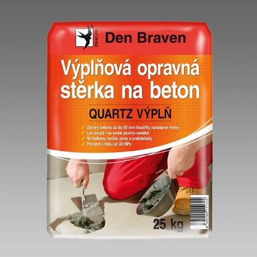 Den Braven Výplňová opravná stěrka na beton QUARTZ VÝPLŇ