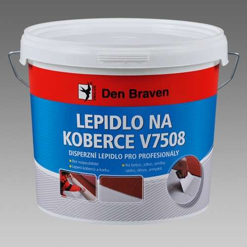 Lepidlo Den Braven na koberce V7508
