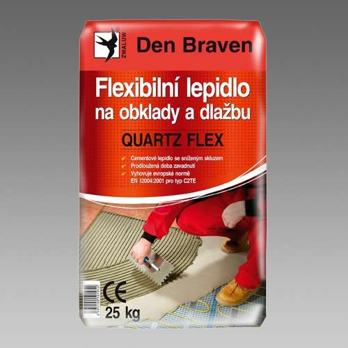 Den Braven Flexibilní lepidlo na obklady a dlažbu QUARTZ FLEX