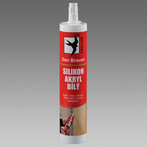 Den Braven Silikon akrylový tmel 310 ml