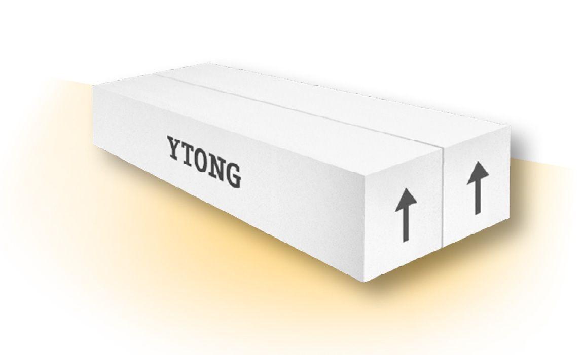 YTONG Plochý překlad PSF 125-3000, 125x124x3000 mm