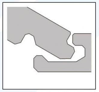 Laminátová podlaha Kaindl Classic Touch - Standard (Clic Loc) K4367 AV Ořech Sabo
