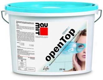Baumit openTop omítka rýhovaná struktura 2 mm