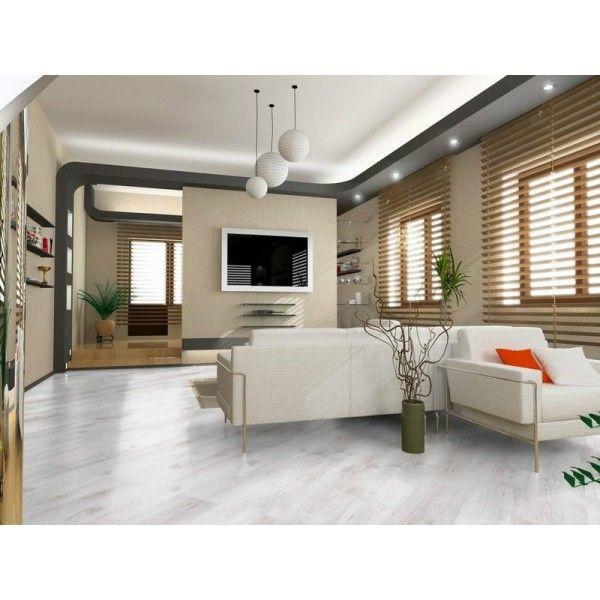 Laminátová plovoucí podlaha premium D2951 Dub bílý