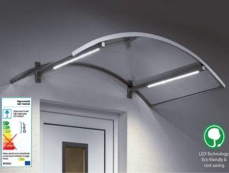Vchodová stříška Guttavordach LED Technik O