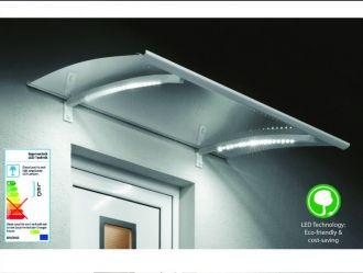 Vchodová stříška Guttavordach LED Technik P