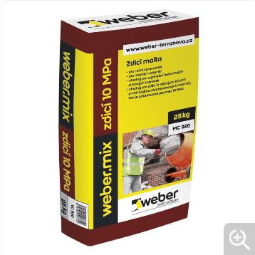 WEBER mix zdící 5 MPa