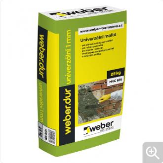 Weber.dur univerzální 1 mm 5 MPa 25 kg
