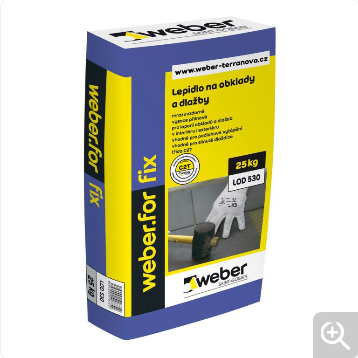 WEBER for fix 25 kg