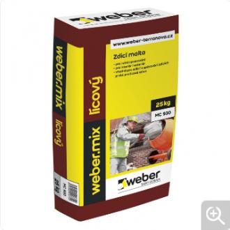 Weber.mix lícový na lícové zdivo 25 kg