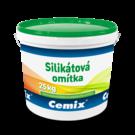 Cemix silikátová omítka rýhovaná 3 mm 25 kg