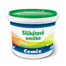 Cemix silikátová omítka zatíraná 3 mm 25 kg