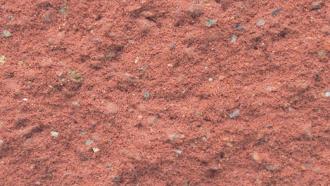 jednostranně štípaná šířky 30 cm s prořezem červená