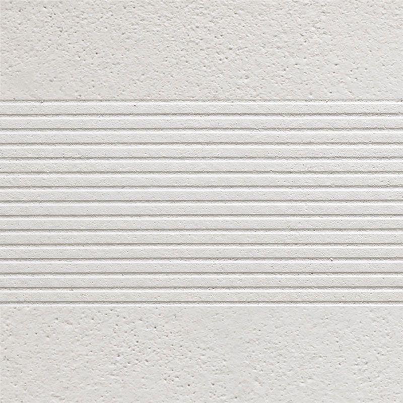 Semmelrock CARATmondego - pruh s drážkami bílá