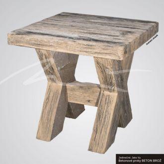 DITON TVÁŘ DŘEVA Stůl typ fošna 120