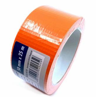CIRET - Páska stavební 50mmx25m oranžová, kaučukové lepidlo