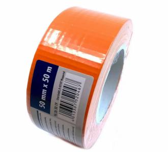 CIRET - Páska stavební 50mmx50m oranžová, kaučukové lepidlo