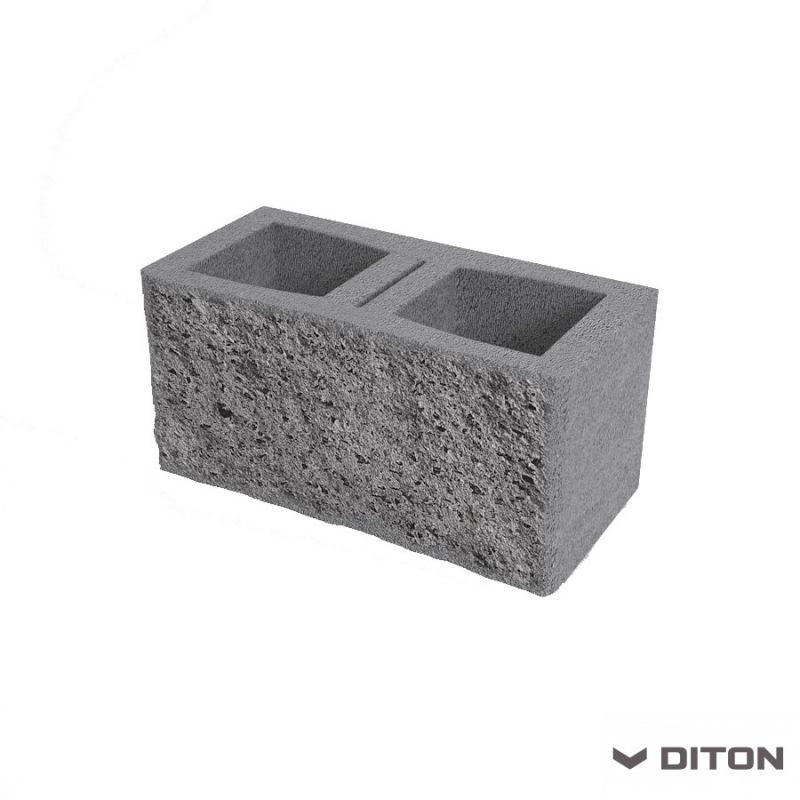 DITON Plotová tvarovka s FAZETOU PT B oboustranná