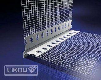 Profil VLT plast, s okapničkou 2 m LIKOV