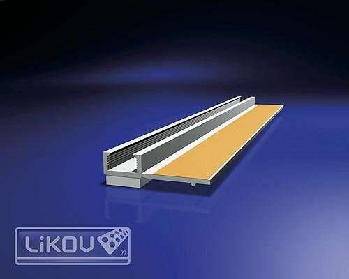 Profil začišťovací okenní - 6mm LIKOV